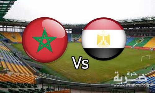نتيجة مباراة مصر والمغرب 1-0 هدف كهرباء اليوم ينقل منتخب مصر الى نصف نهائى امم افريقيا 2017