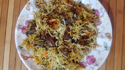 Boneless Mutton Biryani recipe by The Hoggerz