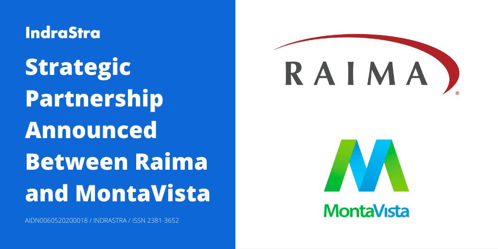 Strategic Partnership Announced Between Raima and MontaVista