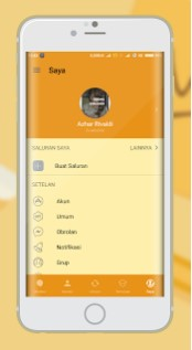 BBM Mod Mi-Gold 300.3.7.101 Apk Terbaru for Android Latest Version