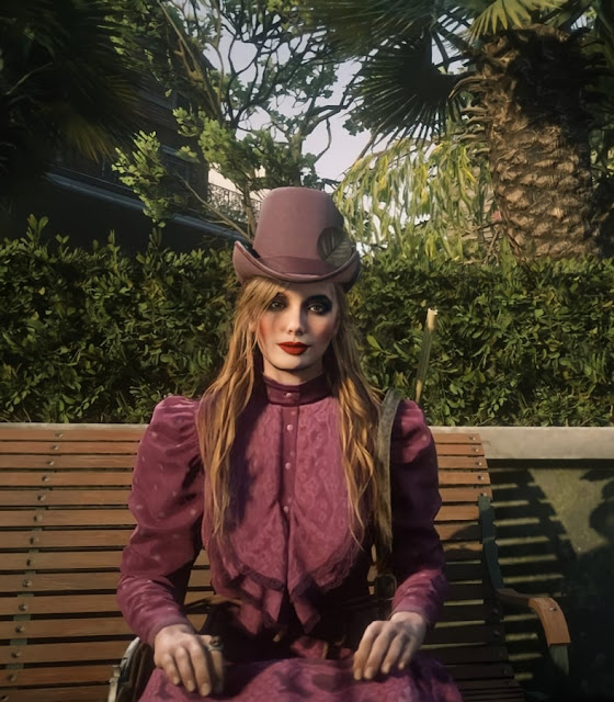 red dead online female character outfit