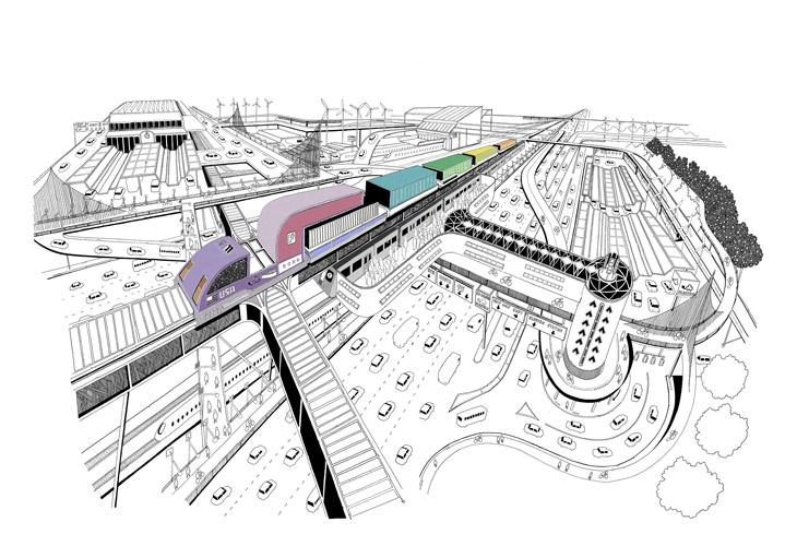 Chris Dent - Illustration Portfolio - Train