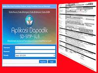Download Aplikasi Format Pendaftaran PSB (Penerimaan Siswa Baru) Formulir Dapodik
