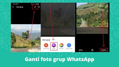 Cara Mengganti Foto Grup WhatsApp