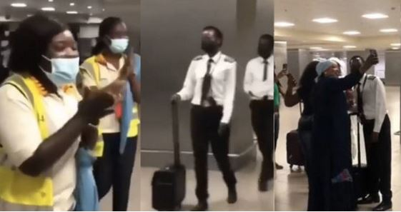Female Pilot Applauded After Landing Airplane Safely Despite the Bad Weather (Watch Video)