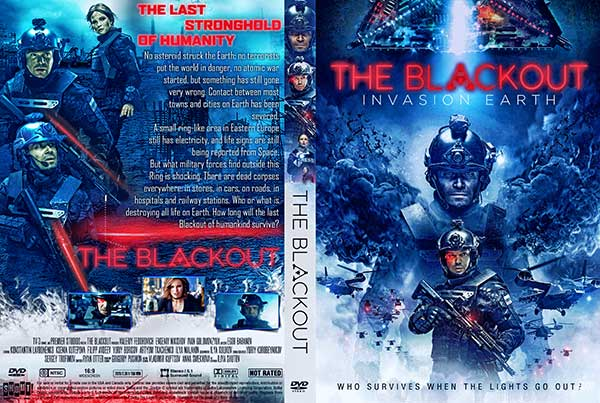 The Blackout: Invasion Earth (2020) DVD Cover