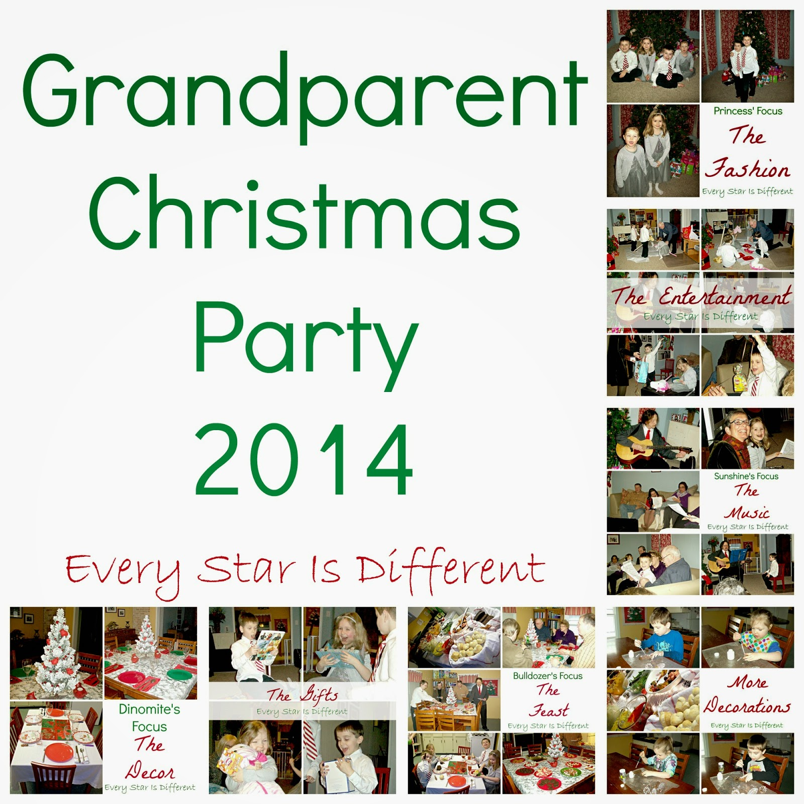 Our First Grandparent Christmas Party