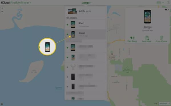كيفية استخدام Find My iPhone لتحديد موقع الهاتف المسروق