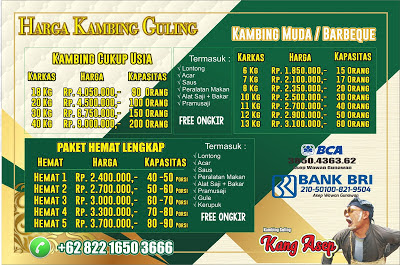 Harga Kambing Guling Siap Saji Lembang, harga kambing guling lembang, kambing guling lembang, kambing guling,
