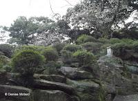 Park scenery, Isahaya Park - Nagasaki, Japan