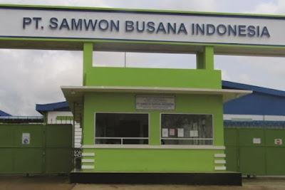 Info lowongan PT. SAMWON BUSANA INDONESIA UNIT JEPARA Membutuhkan :  Chief Supervisor Cutting  Chief Supervisor Sewing  Chief Supervisor Finishing  Operator Produksi