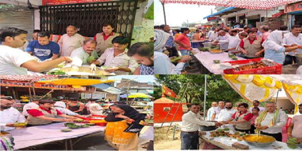 Shradhaluo-ne-rahagiro-ko-roakkar-grahan-karaya-bhandara