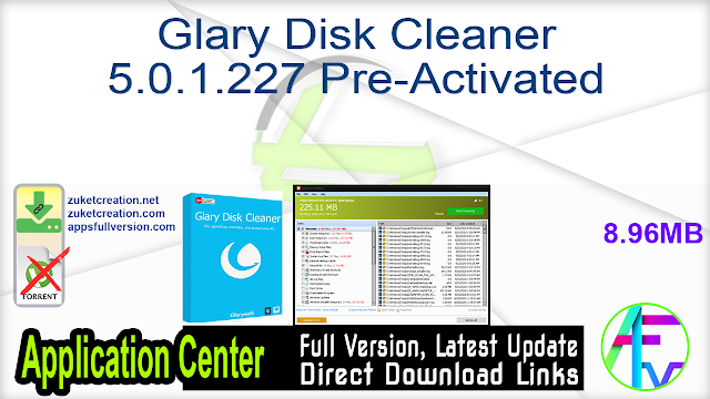 Glary Disk Cleaner 5.0.1.227 Pre-Activated