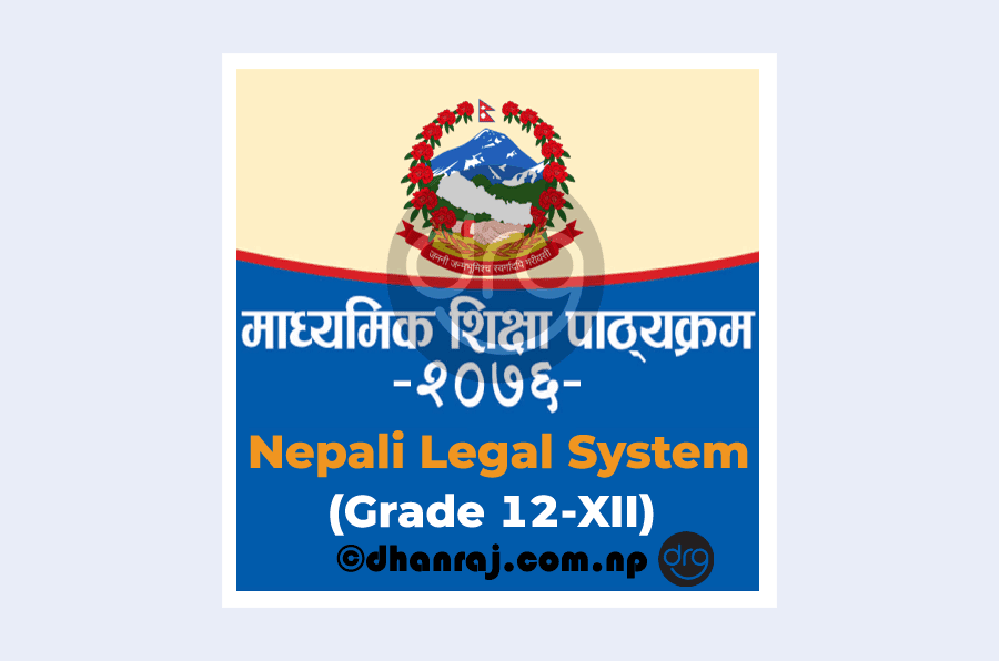 Nepali-Legal-System-Curriculum-Grade-12-XII-Code-Nls110-2076-DOWNLOAD-PDF
