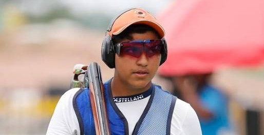 Asian Games 2018: 15 Year Old Shooter Shardul Vihan wins Silver in Men's Double Trap