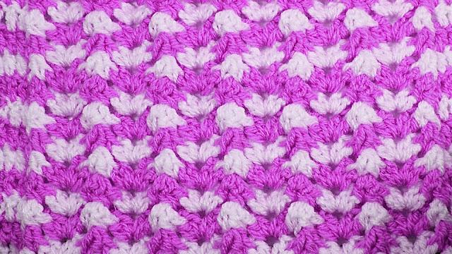 2 - Crochet Imagen Puntada de ondas a crochet y ganchillo por Majovel Crochet