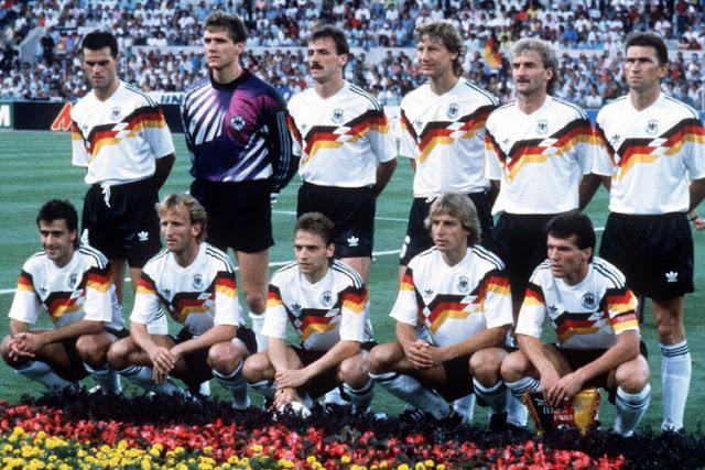 Grandes seleções da história das Copas: a Alemanha de 1990