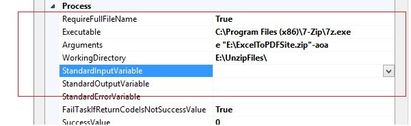 Zip/Unzip multiple files and also include password for