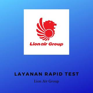 rapid test covid-19 lion air