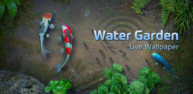 تحميل Water Garden Live Wallpaper 1.66 - خلفية حية جميلة لهواتف الاندرويد