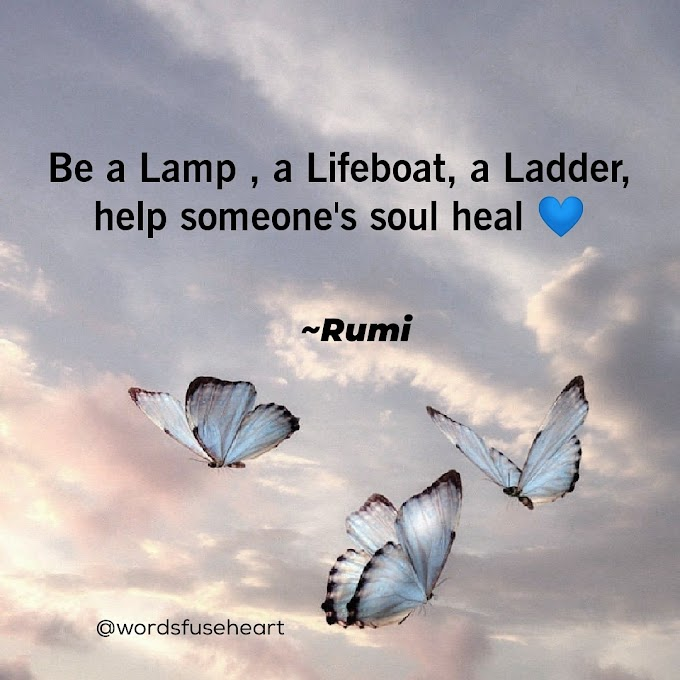Help Someone Best Motivational Quote by Rumi