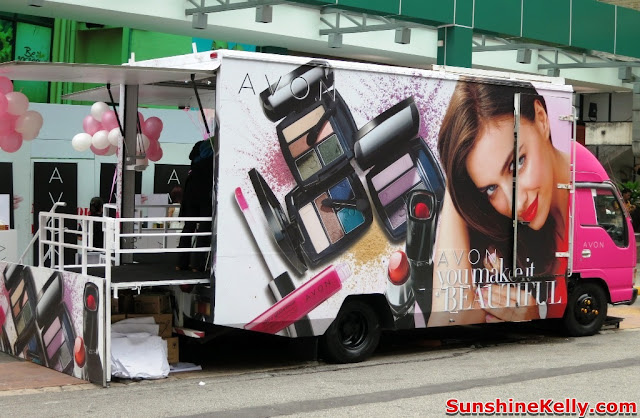 Avon, You Make Me Beautiful, beauty caravan, new Avon Makeup Collection, makeup, beauty