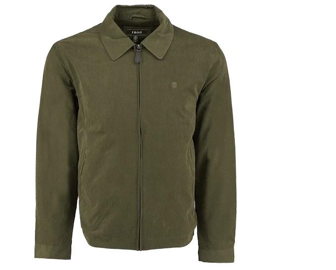 IZOD Men's Microfiber Golf Jacket
