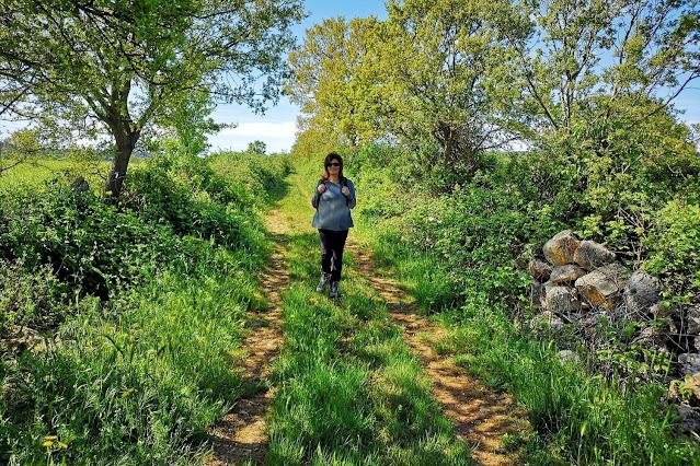 Escursionista nella natura