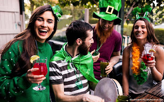 women's Patricks day party