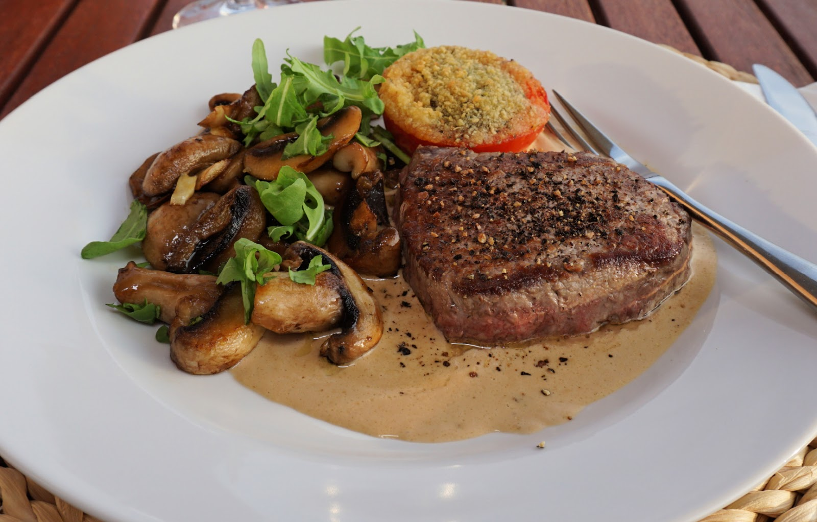 Steak au poivre à la Tour Eiffel