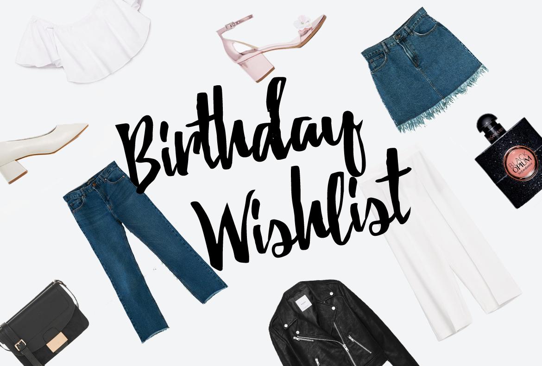 26th Anniversary Wishlist