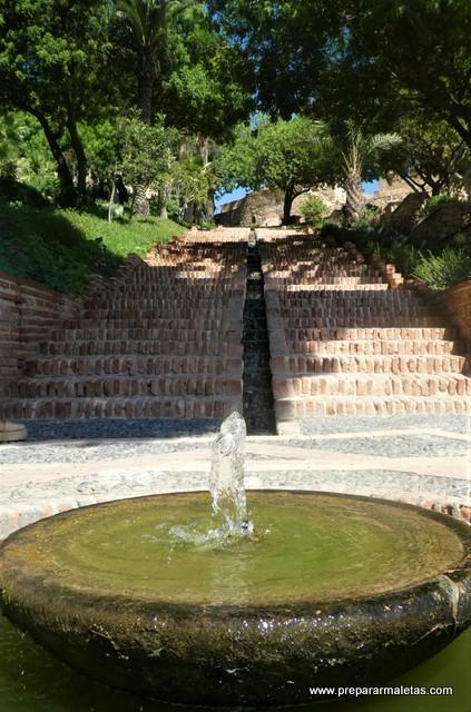jardines de la Alcazaba de Almería