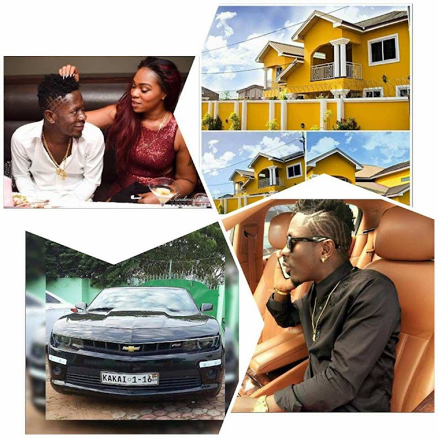 Image result for shatta wale cars and mansions
