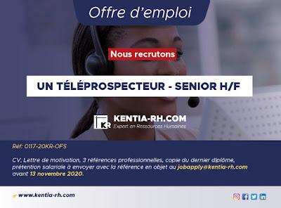 Téléprospecteur-Senior