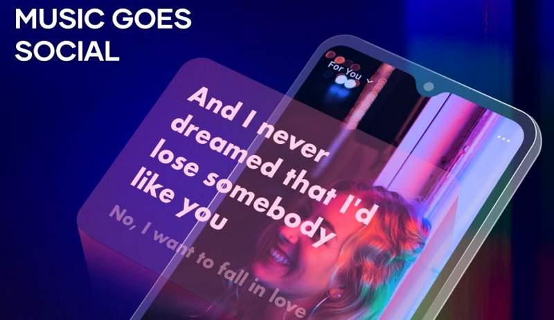 Cara membuat lirik lagu berjalan di Story Instagram (digitalmusicnews.com)