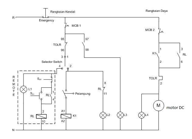 pembelajaran electrical: water level control (WLC)