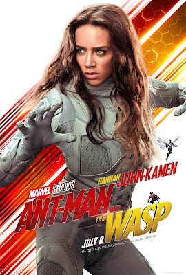 Marvel's Ant-Man and the Wasp Ghost poster