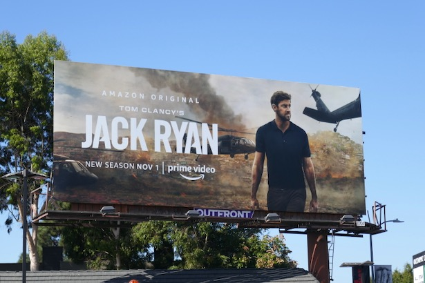 Jack Ryan season 2 billboard