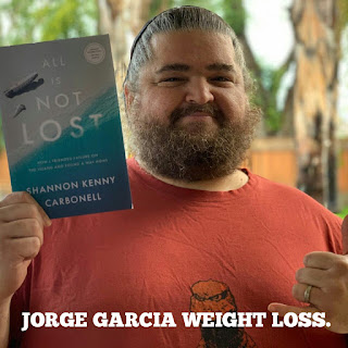 Jorge Garcia weight loss journey. How did Jorge Garcia lose weight?