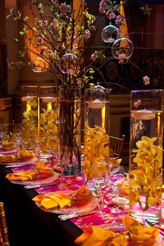 Asia Society Gala Toujours Table Decor