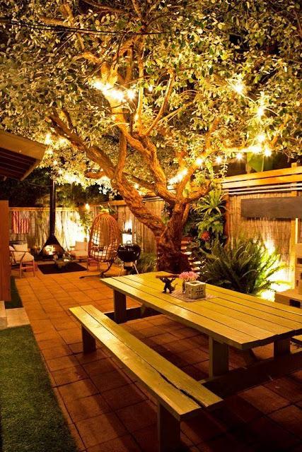 iluminacao led jardins:DECORACIÓN DE JARDIN DE INVIERNO by artesydisenos.blogspot.com