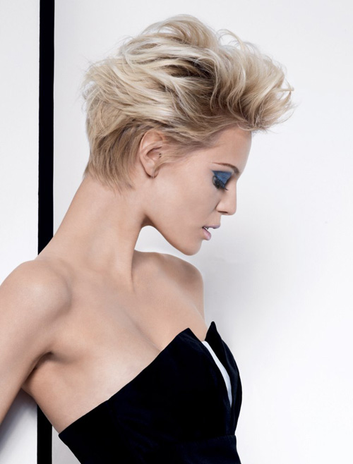 Coiffure courte coupe de cheveux courts