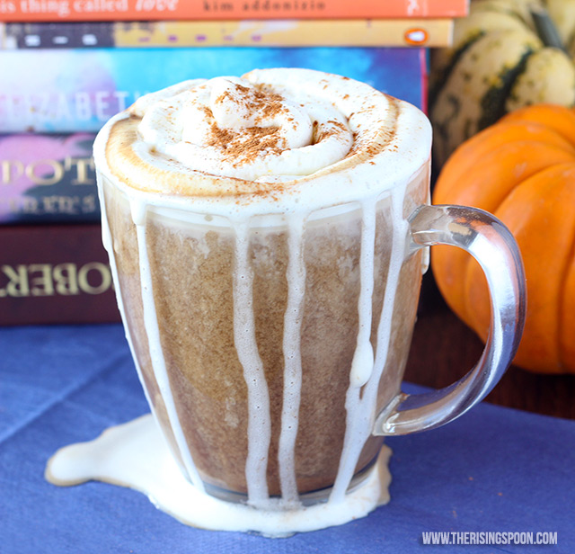 Pumpkin Spice Latte with Vanilla Almond Milk