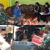 Antisi Kekurangan Bahan Pokok, Dandim Makassar Bagi-Bagi Sembako Untuk Warga Bantaran Sungai Tallo