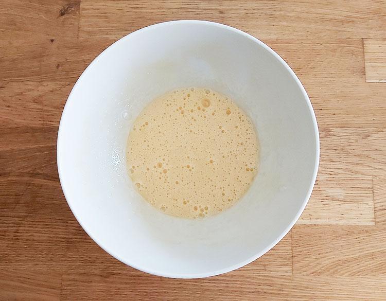 Blanchir oeufs et sucre