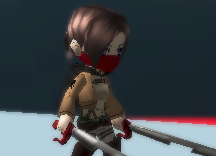 Bandana Skin Face AOTTG - Like A Ninja If U Used It Attack On Titan Tribute Game