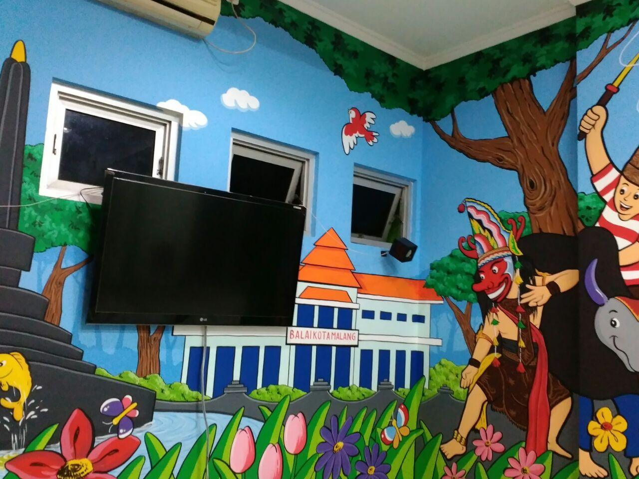 Lukisan Lukisan Mural Sekolah Paling Keren