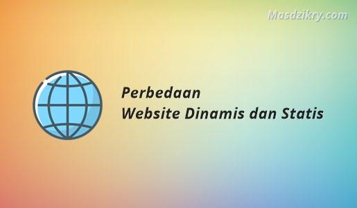 Perbedaan Website Dinamis dan Statis
