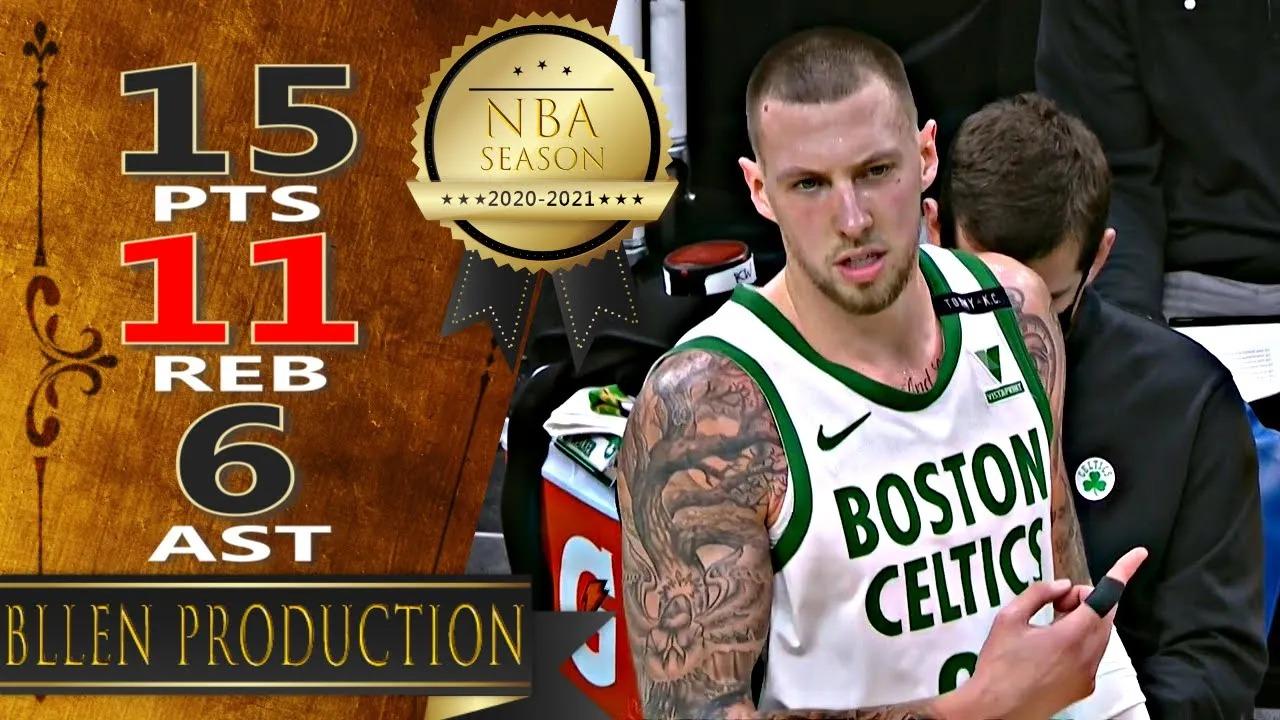 Daniel Theis 15pts 11reb 6ast vs UTA | March 16, 2021 | 2020-21 NBA Season