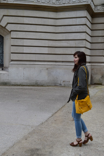 first sunny day, thelibrarianchic, blog, blogmode, paris, fashionblog